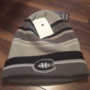 ADIDAS Men's NHL Canadian Habs Beanie Hat